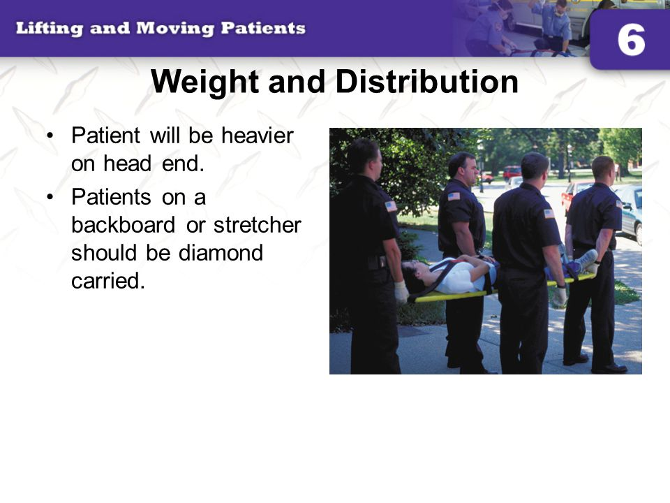 Weight and Distribution