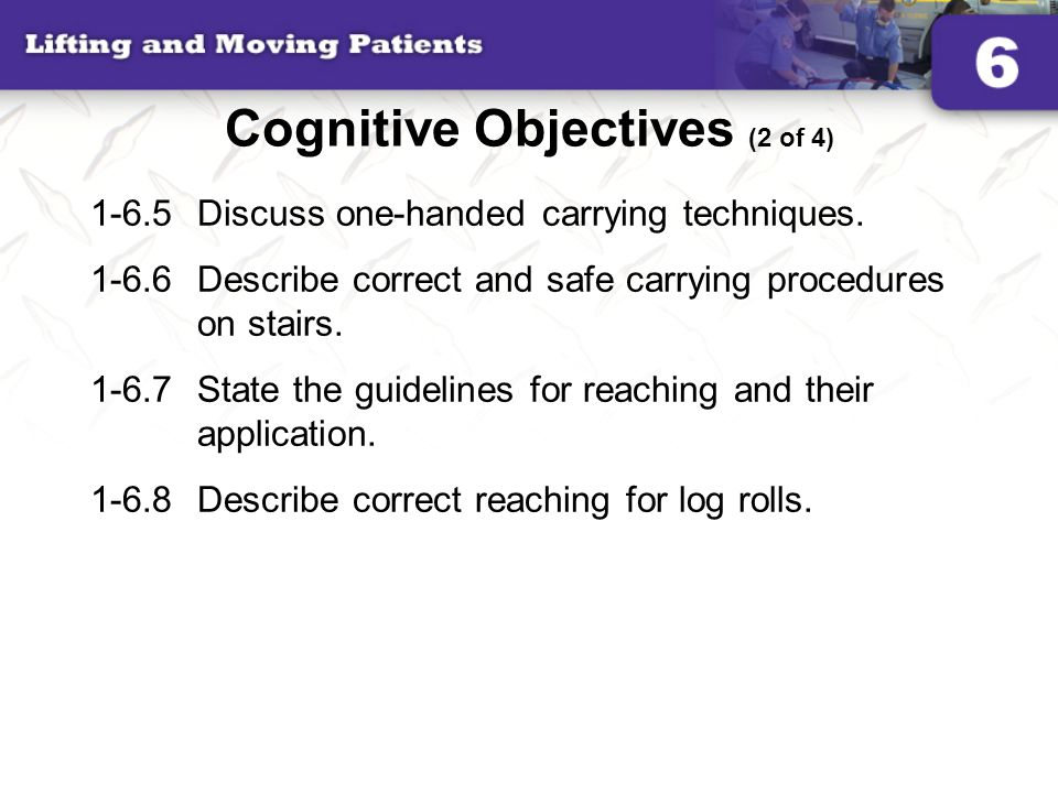 Cognitive Objectives (2 of 4)