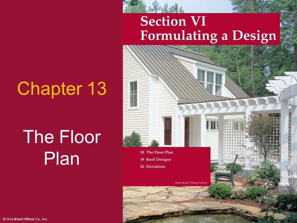 Chapter 13 The Floor Plan 2