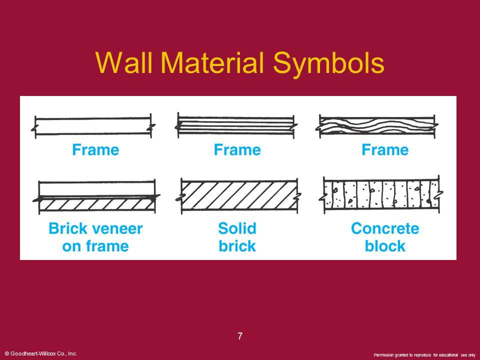 Wall Material Symbols 7