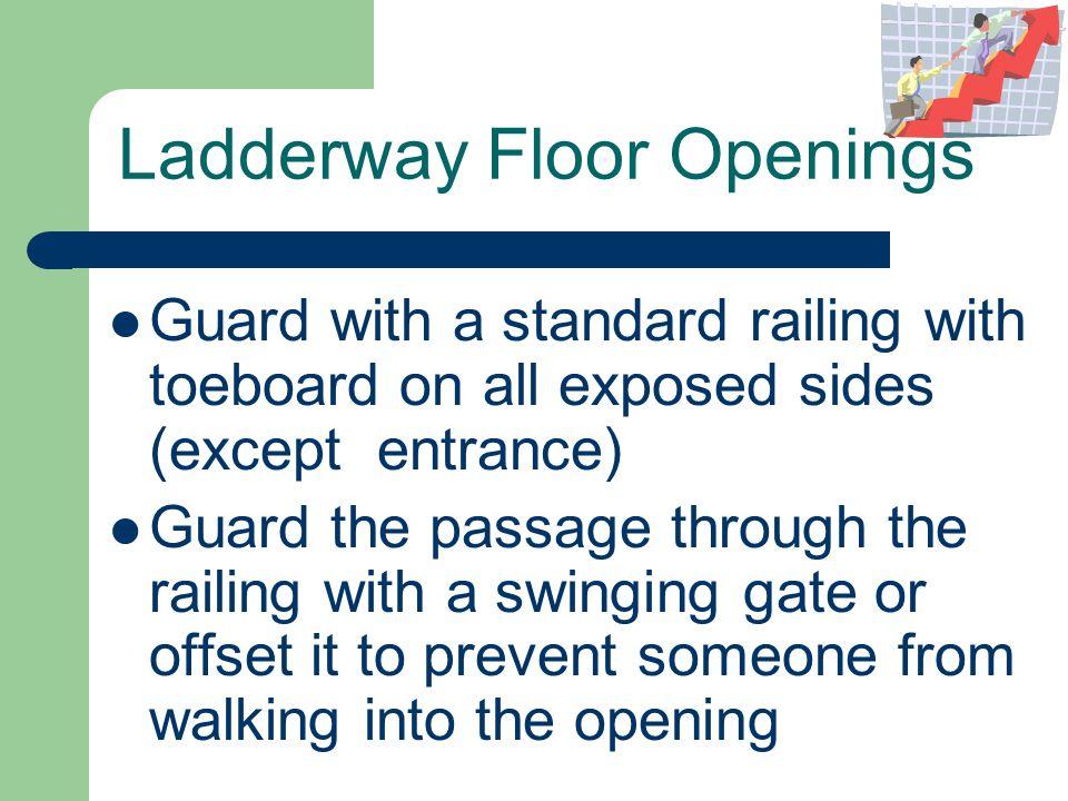 Ladderway Floor Openings