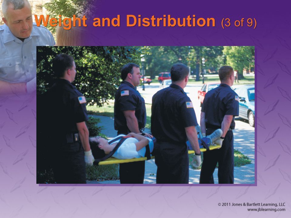 Weight and Distribution (3 of 9)