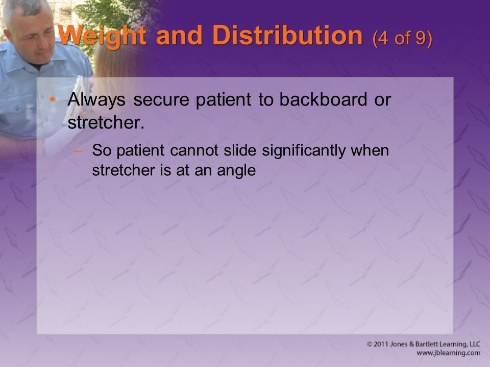 Weight and Distribution (4 of 9)