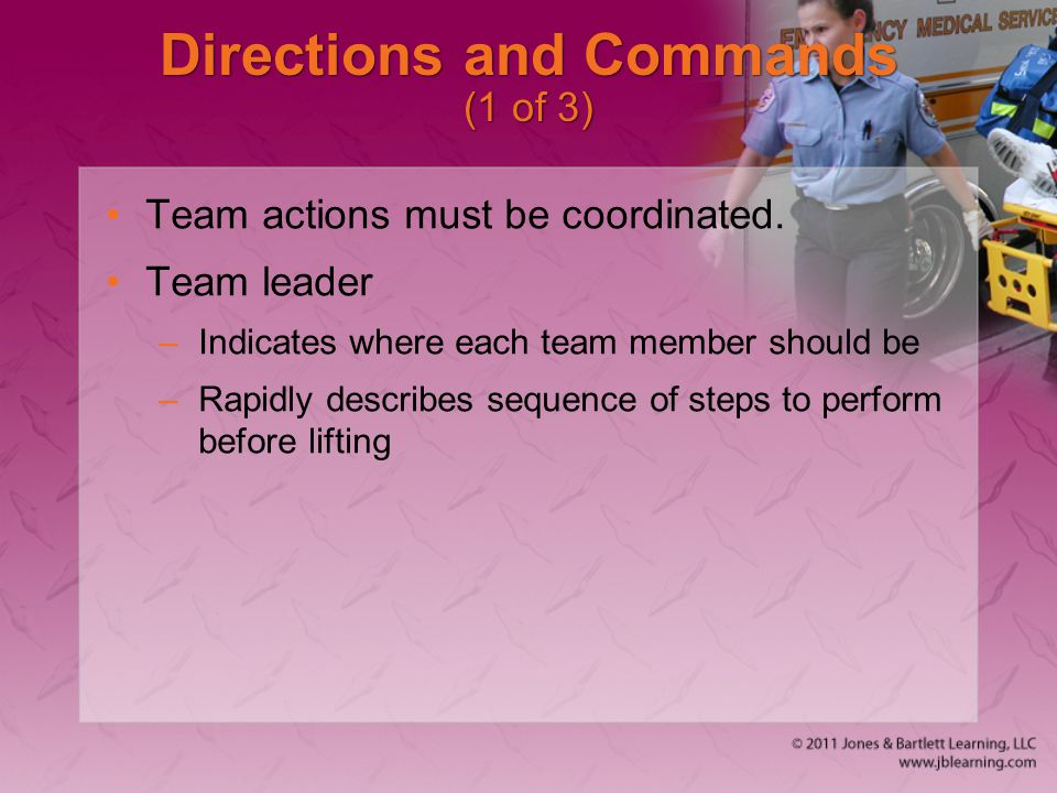 Directions and Commands (1 of 3)