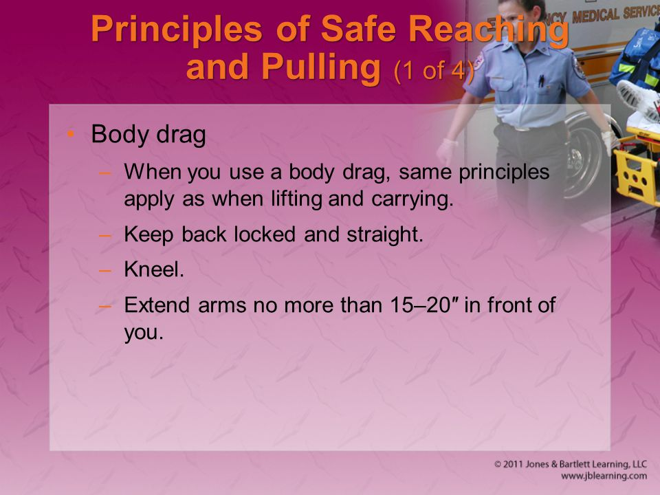 Principles of Safe Reaching and Pulling (1 of 4)
