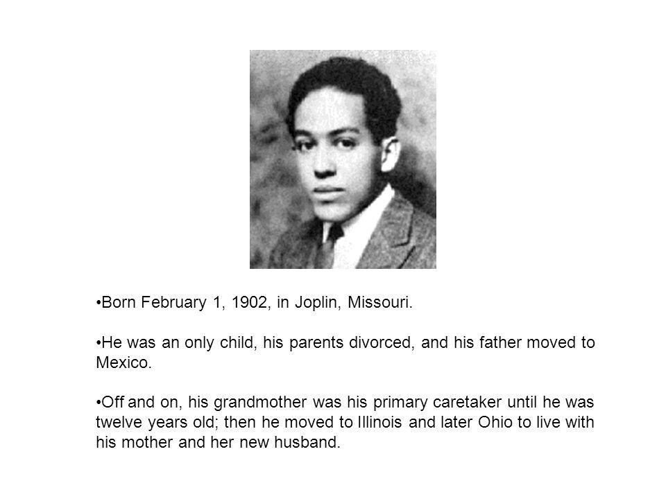 Born February 1, 1902, in Joplin, Missouri.