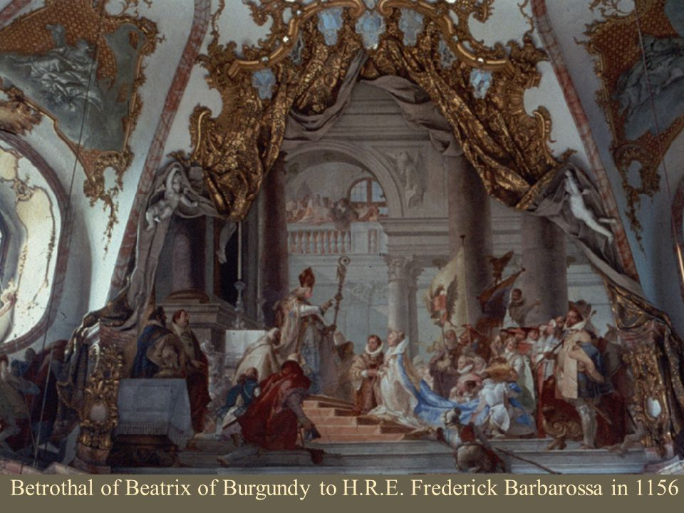 Betrothal of Beatrix of Burgundy to H. R. E