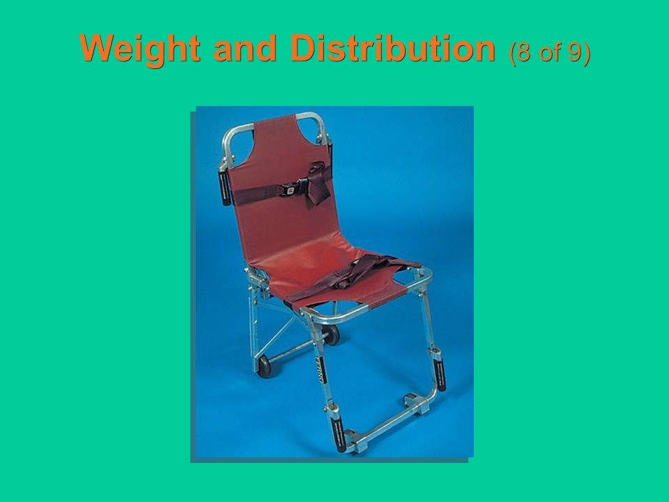 Weight and Distribution (8 of 9)