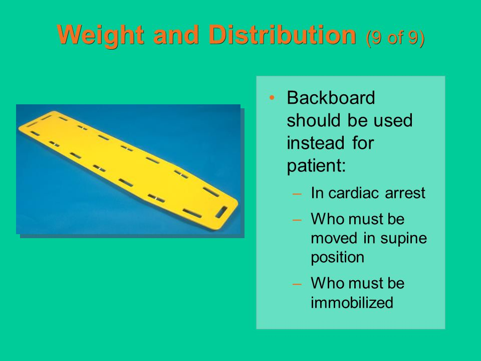 Weight and Distribution (9 of 9)