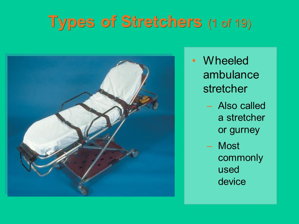Types of Stretchers (1 of 19)