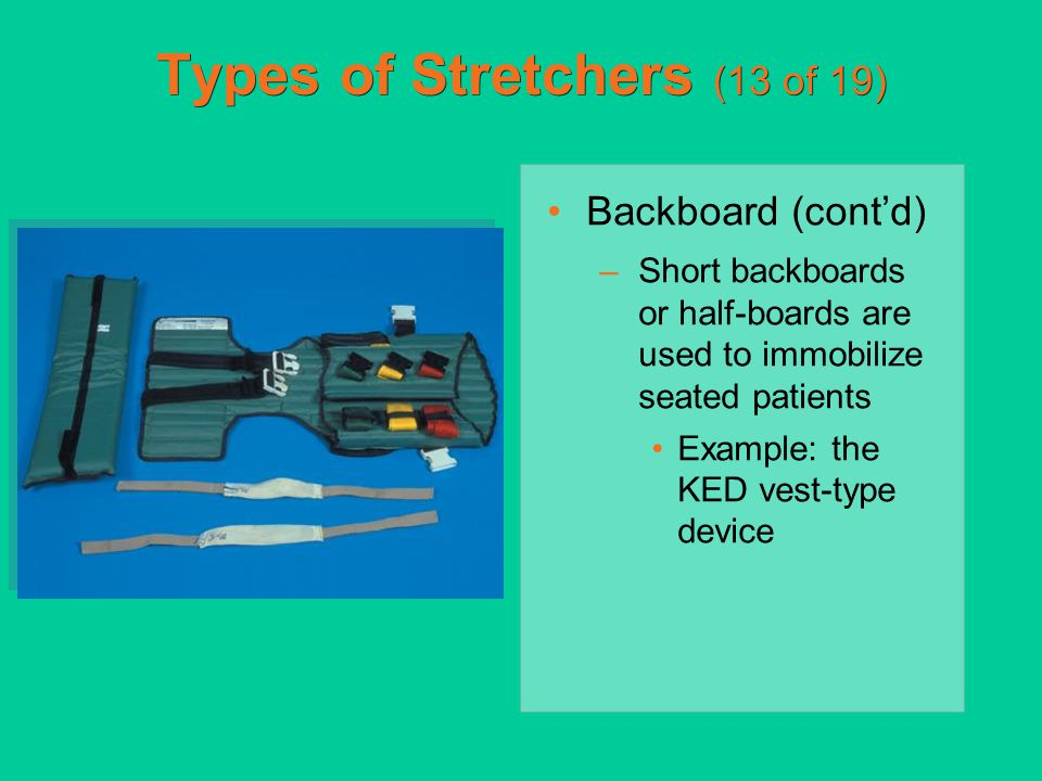 Types of Stretchers (13 of 19)