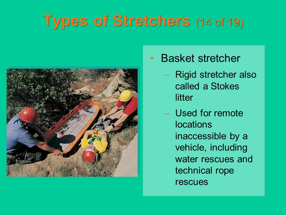 Types of Stretchers (14 of 19)