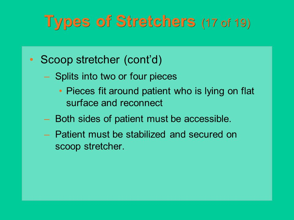 Types of Stretchers (17 of 19)
