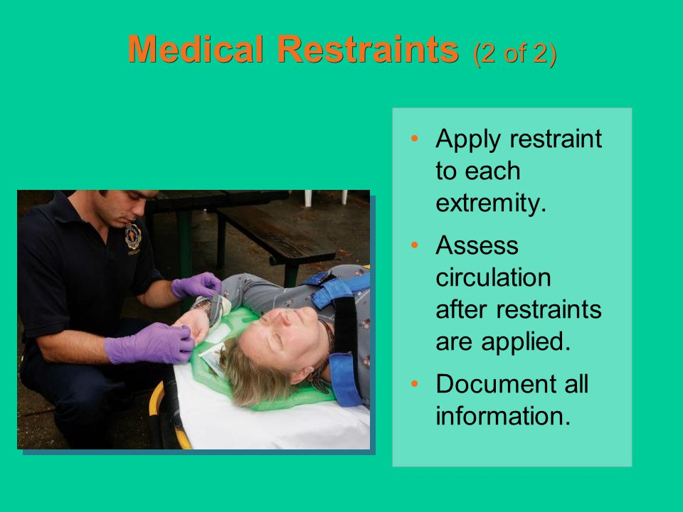 Medical Restraints (2 of 2)