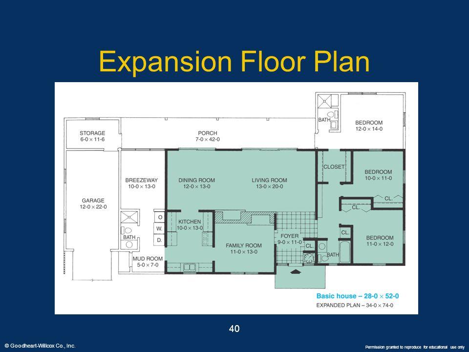 Expansion Floor Plan 40