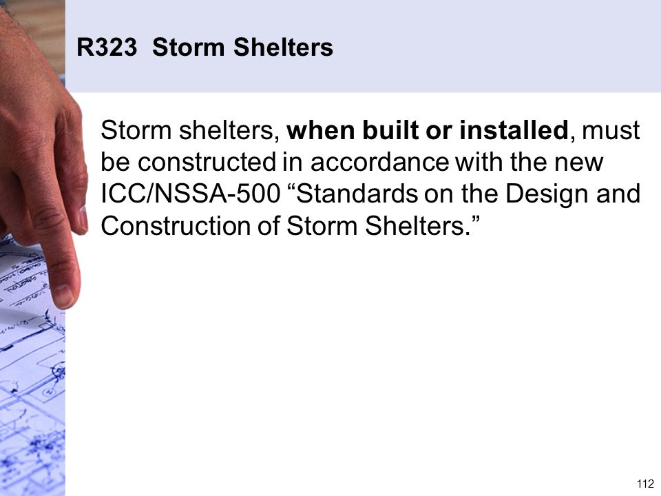 R323 Storm Shelters