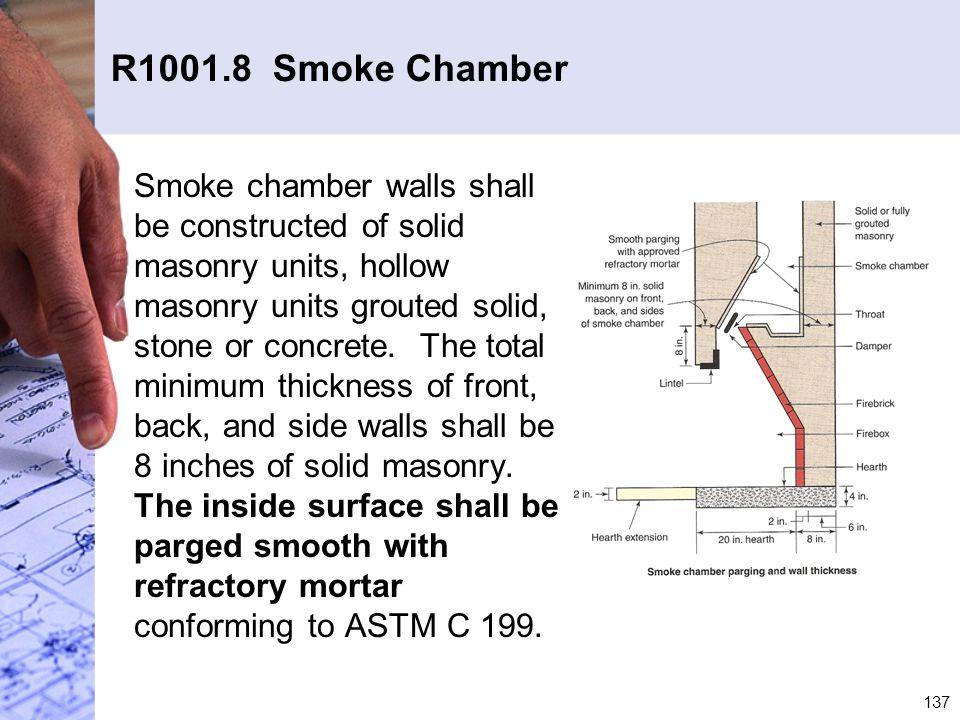 R1001.8 Smoke Chamber