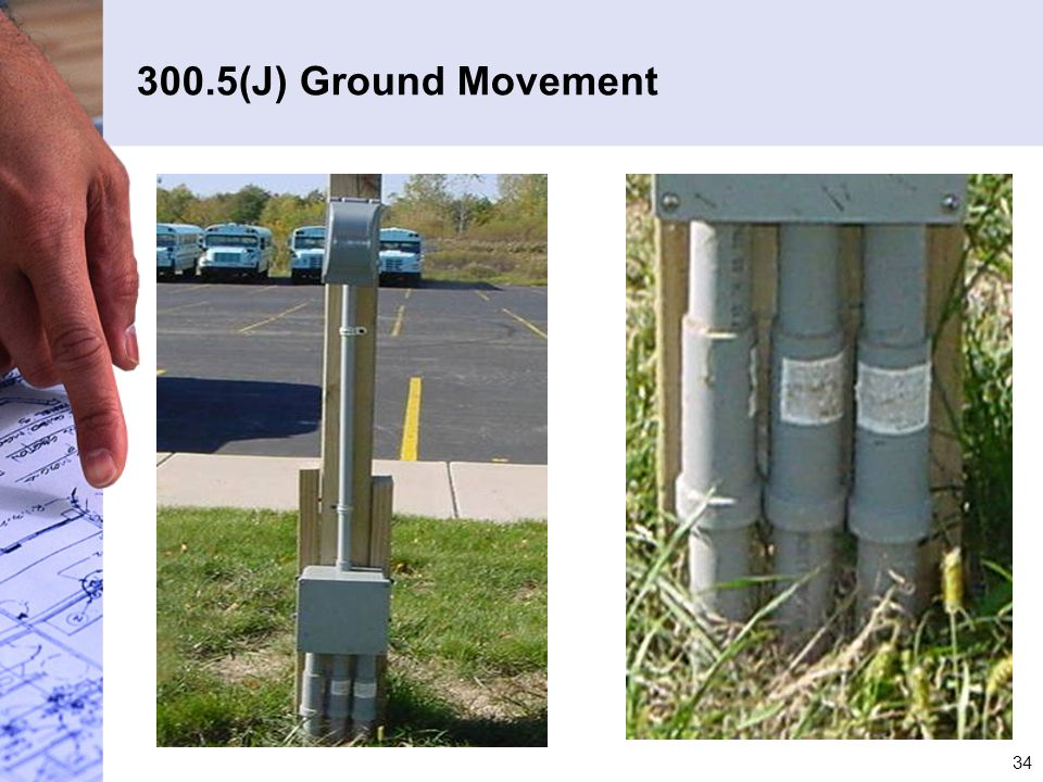 300.5(J) Ground Movement