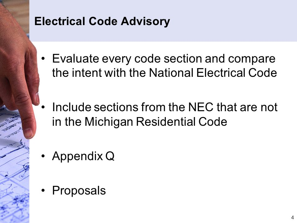 Nice Michigan Residential Electrical Code Images - Wiring Diagram ...
