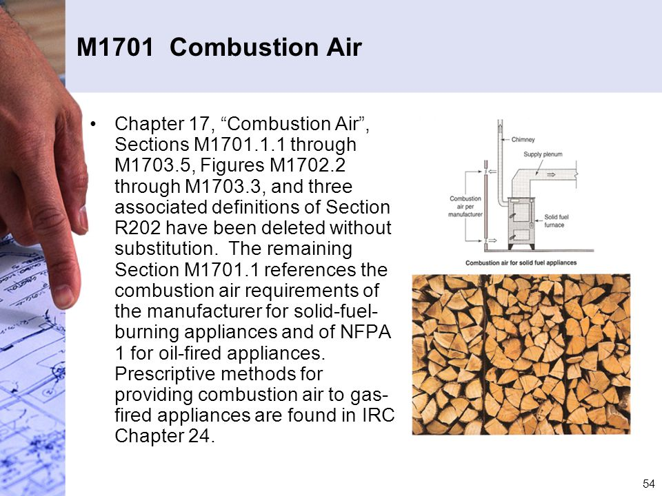 M1701 Combustion Air