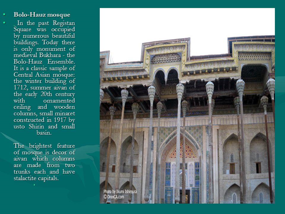 Bolo-Hauz mosque