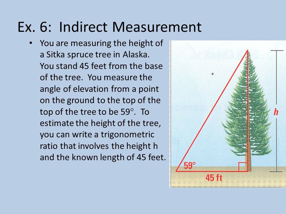 Ex. 6: Indirect Measurement