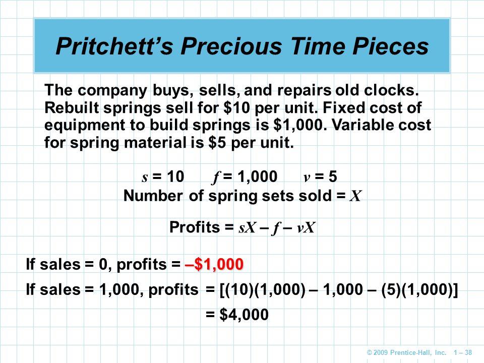 Pritchett's Precious Time Pieces