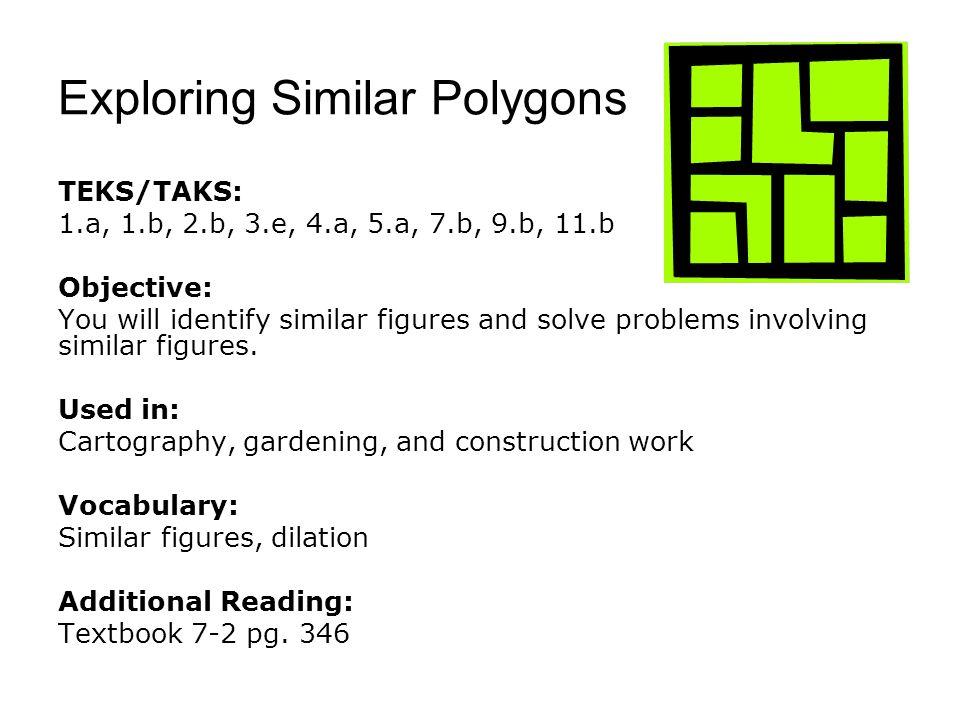 Exploring Similar Polygons