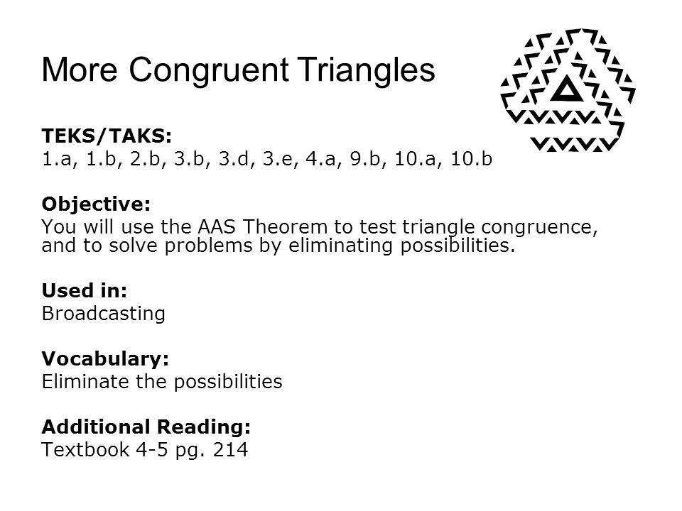 More Congruent Triangles