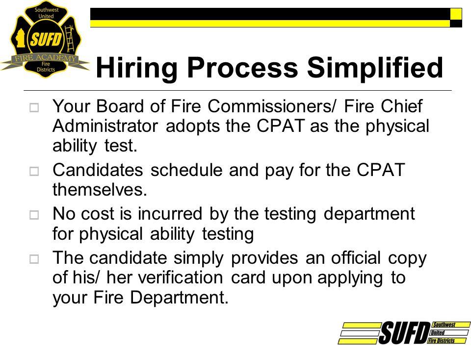 Hiring Process Simplified