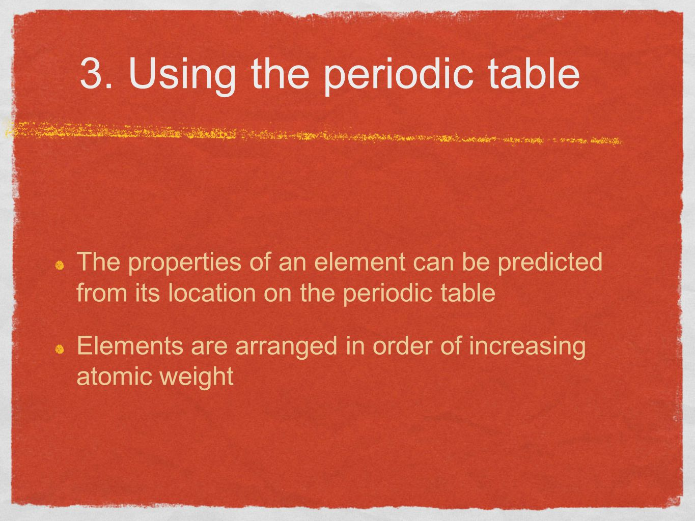 Elements and the periodic table ppt video online download 23 3 using the periodic table gamestrikefo Images