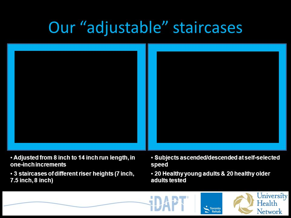 Our adjustable staircases