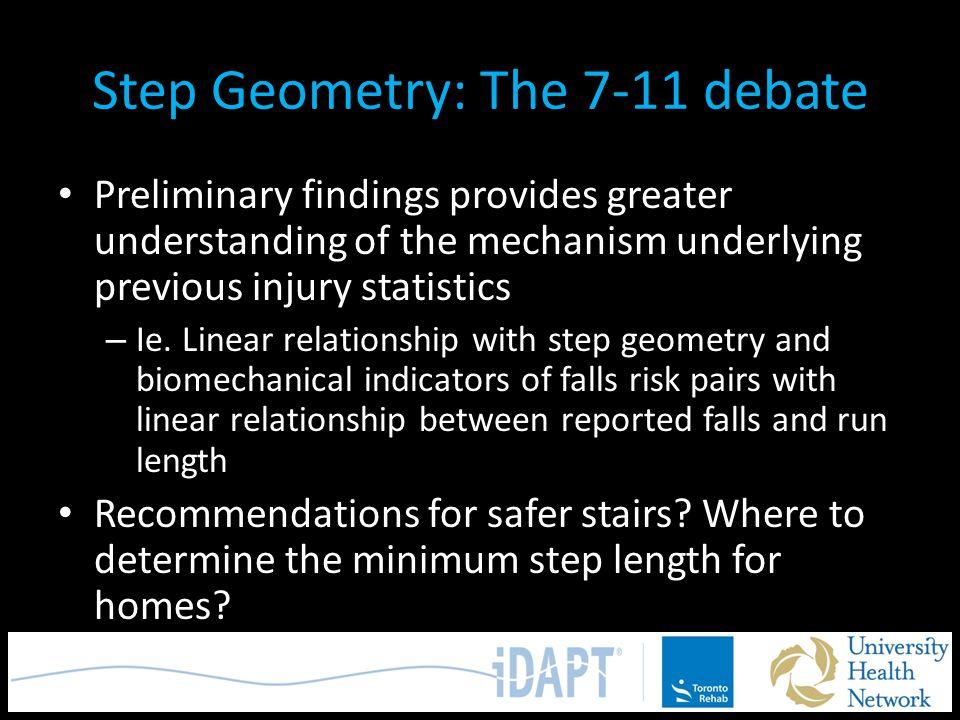 Step Geometry: The 7-11 debate
