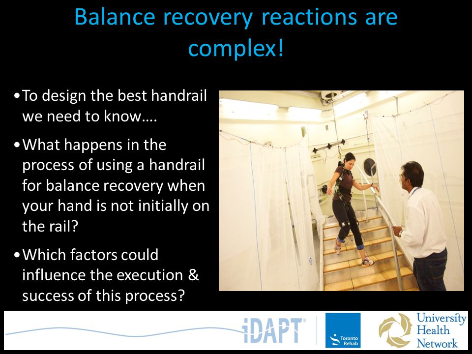 Balance recovery reactions are complex!