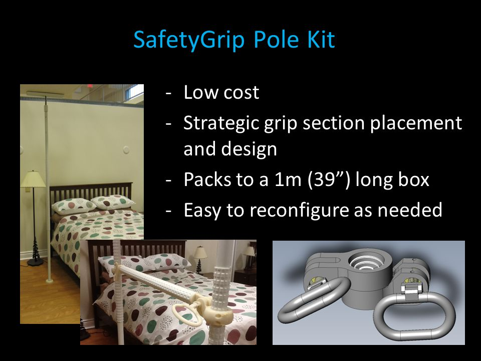 SafetyGrip Pole Kit Low cost