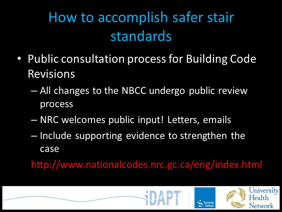 How to accomplish safer stair standards