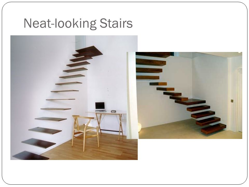 Neat-looking Stairs