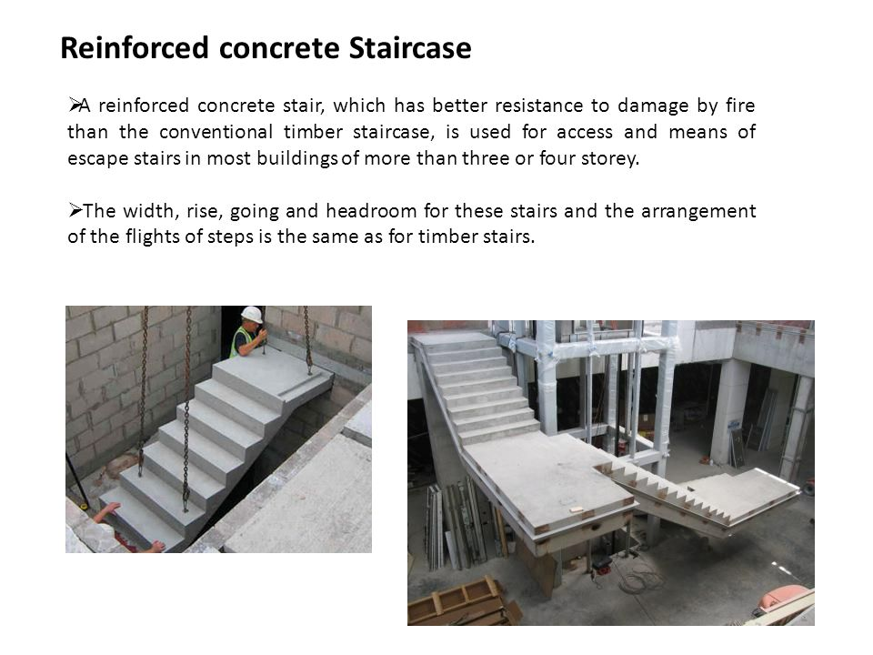 Reinforced concrete Staircase
