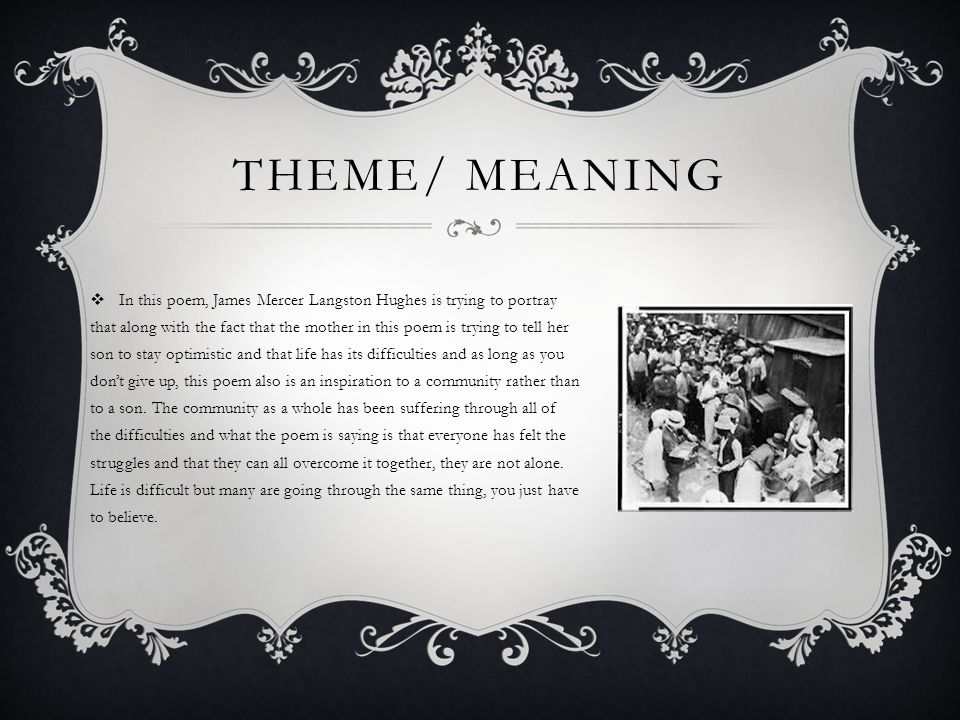 Theme/ meaning