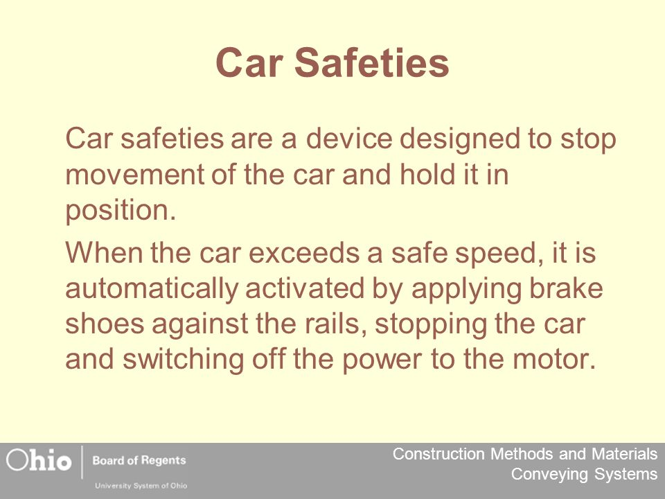 Car Safeties