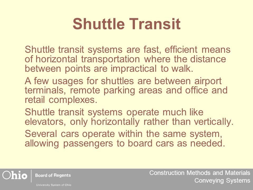 Shuttle Transit