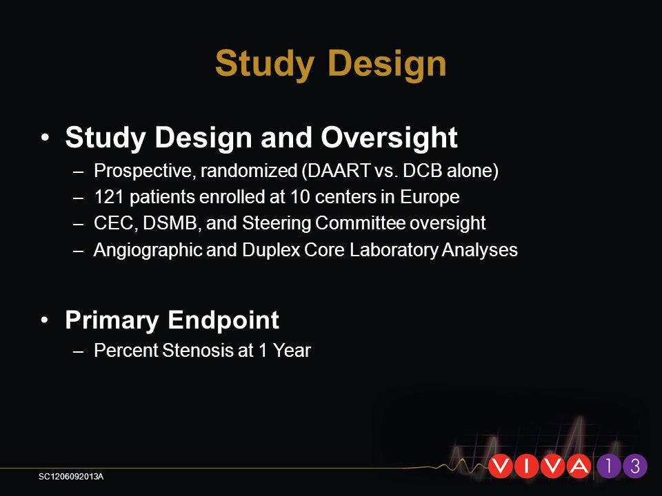 Study Design Study Design and Oversight Primary Endpoint