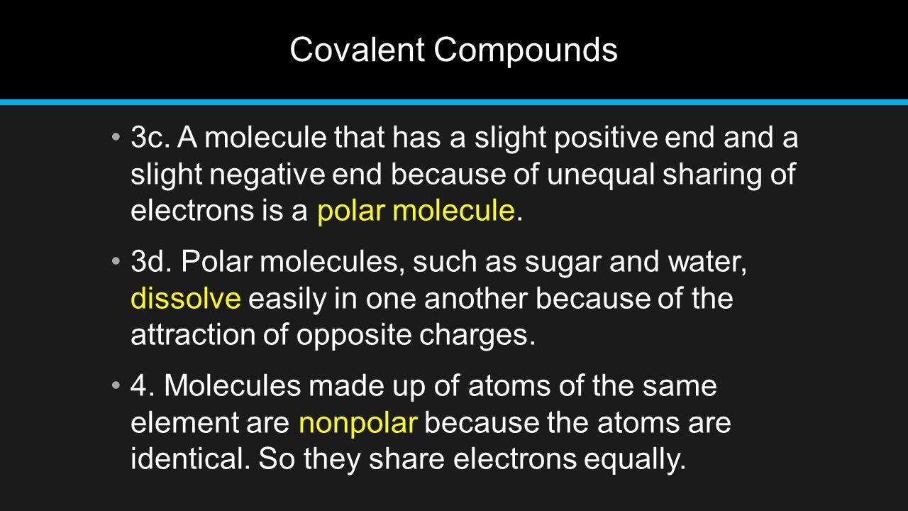 Covalent Compounds