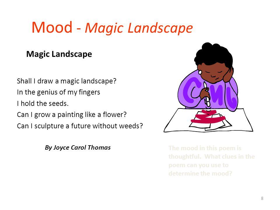 Mood - Magic Landscape Magic Landscape Shall I draw a magic landscape