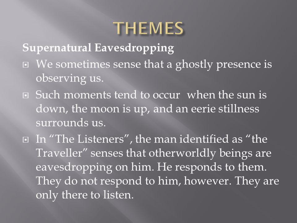 THEMES Supernatural Eavesdropping