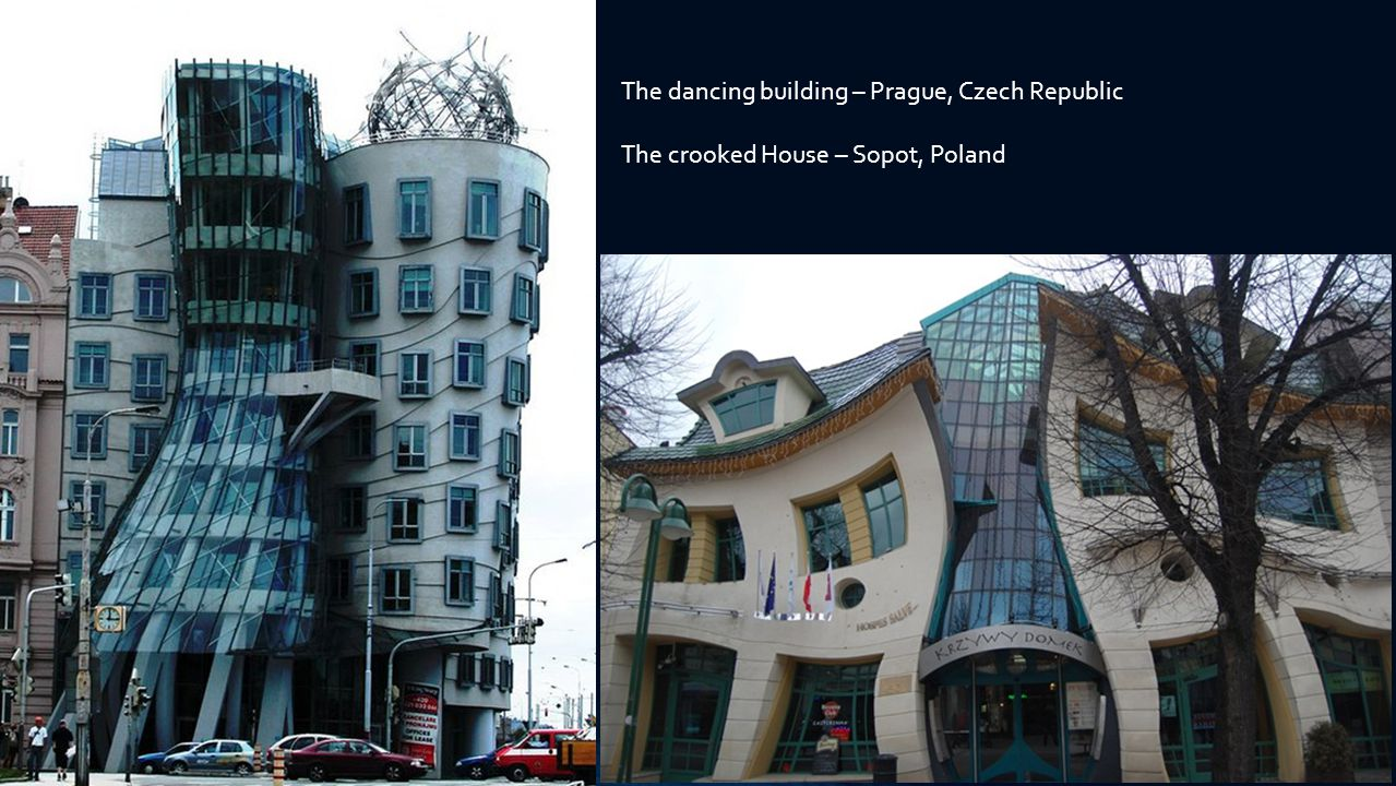The dancing building – Prague, Czech Republic