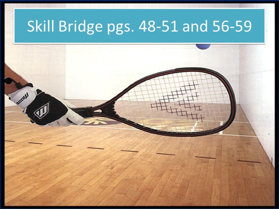 Skill Bridge pgs. 48-51 and 56-59