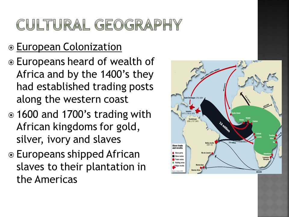 Cultural Geography European Colonization