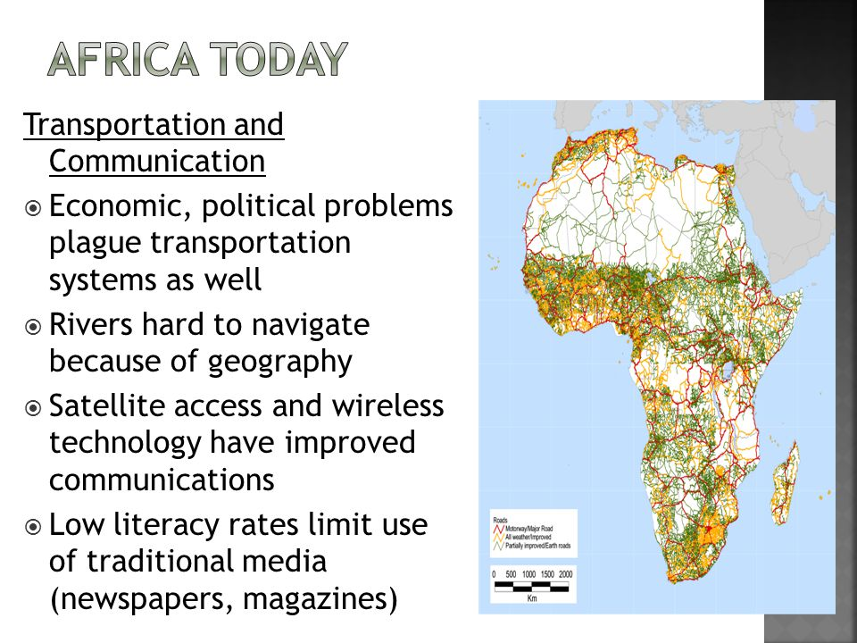 Africa Today Transportation and Communication