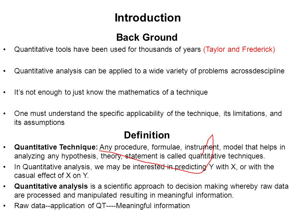 Introduction Back Ground Definition